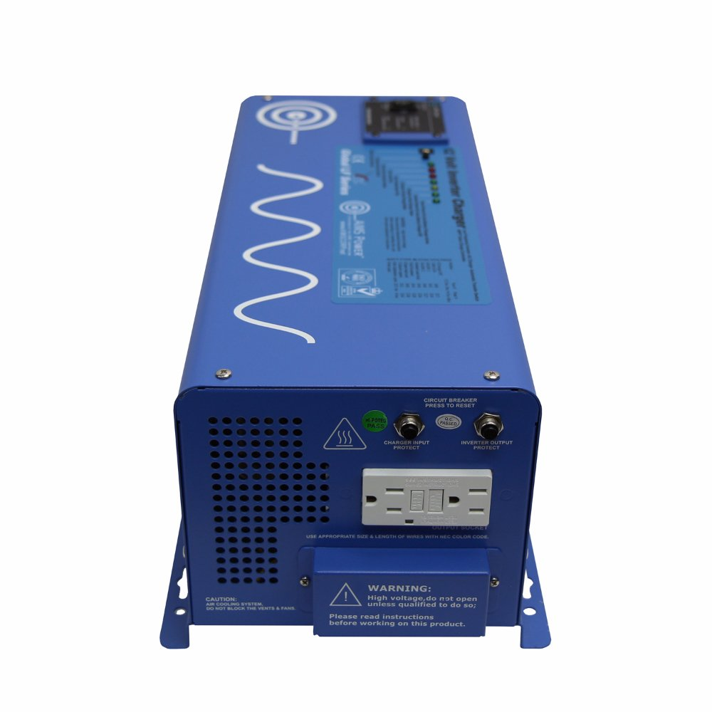 AIMS Power 3000 Watt 12V Pure Sine Inverter Charger w/ 9000W Surge by AIMS Power (Image #3)