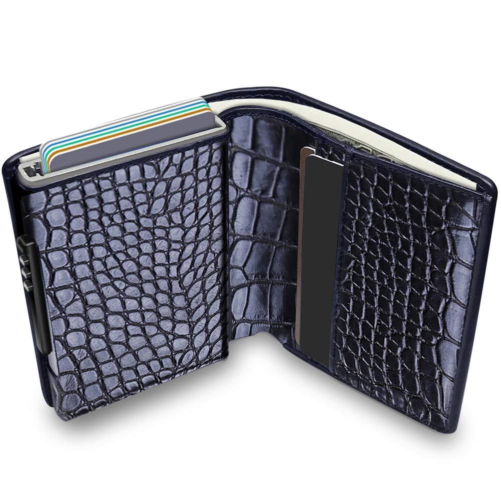 e0d65cd4798d KOOGOO Wallet with Money Clip RFID Blocking Wallet|Minimalist ...