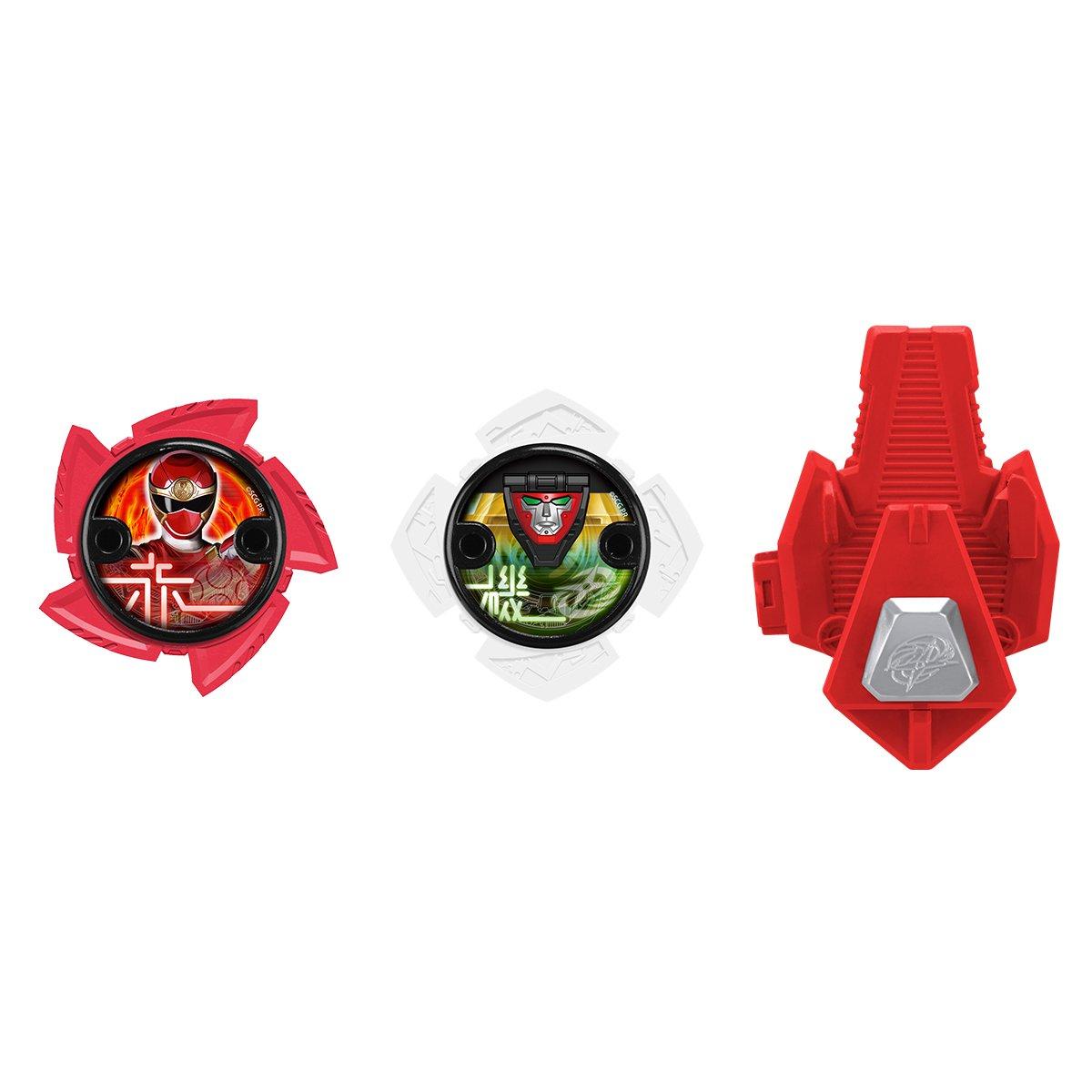 Power Rangers - Pack Etoiles Ninja Et Lanceur, 43756 Bandai