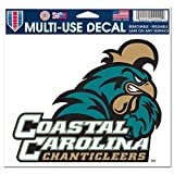 Wincraft NCAA Coastal Carolina University Multi-Use Colored Decal, 5'' x 6''
