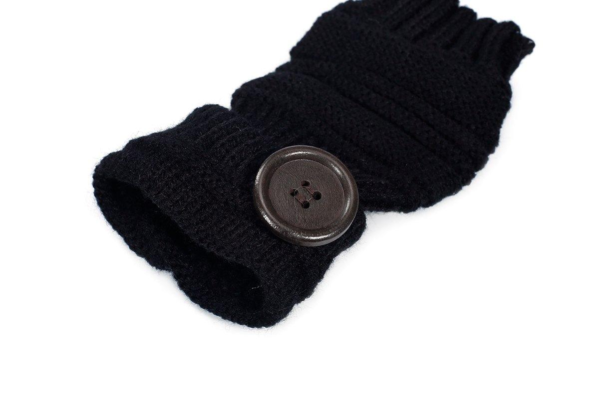 Butterme Unisex Winter Gestrickte Fingerlose Armstulpen Warm Strick Handschuhe Pulsw/ärmer Handstulpen Armw/ärmer Stulpen f/ür Damen Herren tiefen Licht Grau