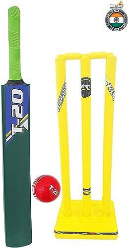 8. Jaspo T-20 Wooden Cricket Bat