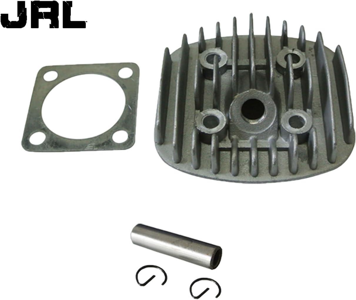 Cylinder Head /& Gasket Set For 2 Stroke Engine Motorized Bike 66cc 70cc 80cc