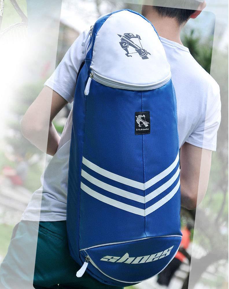 Blau einzelne Schulter-Schl/äger-Tasche Tennis-Schl/äger-Tasche Chinashow wasserdichte Badminton-Schl/äger-Tasche