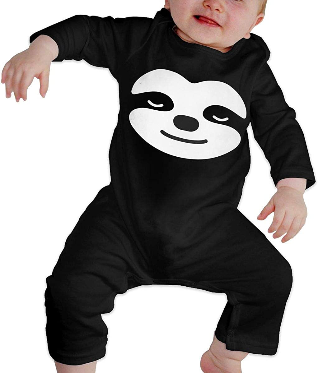 Sleepy Sloth Organic One-Piece Bodysuits Coverall Outfits BKNGDG8Q Toddler Baby Boy Romper Jumpsuit
