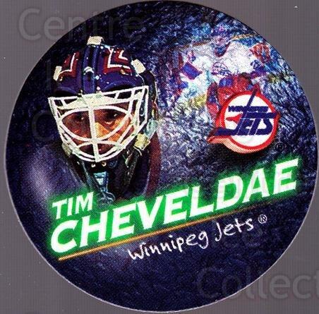 (CI) Tim Cheveldae Hockey Card 1995-96 Canada Games NHL POGS (base) 296 Tim Cheveldae