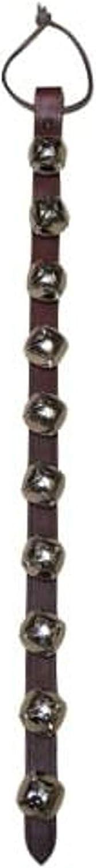 Warner Arctic Sleigh Bells Decorative Leather Strap Door Bells