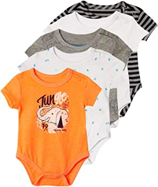 OFFCORSS Baby Boy New Born Jumpusit Onesie Premmie Clothes Pack Ropa para Bebes