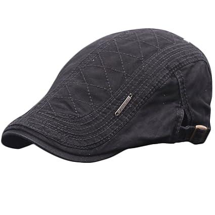 Gespout Sombreros Gorras Boinas Vaquero Hombres Mujer Hat Flat Cap Invierno  Otoño Caliente Viaje Senderismo Navidad e8d356fd71d