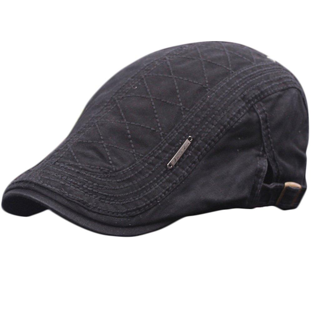 4fa758d710de0 JUNGEN Sombrero unisex de la boina sombrero de moda del sombrero del estilo  de Inglaterra sombrero