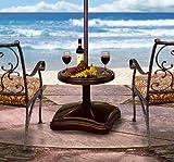 Shademobile RU22-6275 Accessory Table, Bronze