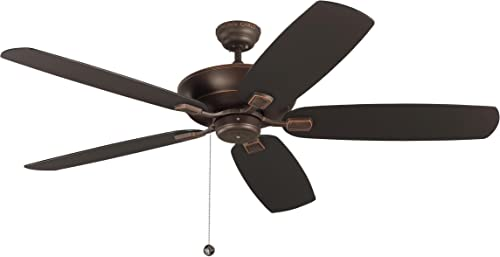 Monte Carlo 5CSM60RB Colony Super Max Dual Mount 60'' Outdoor Ceiling Fan