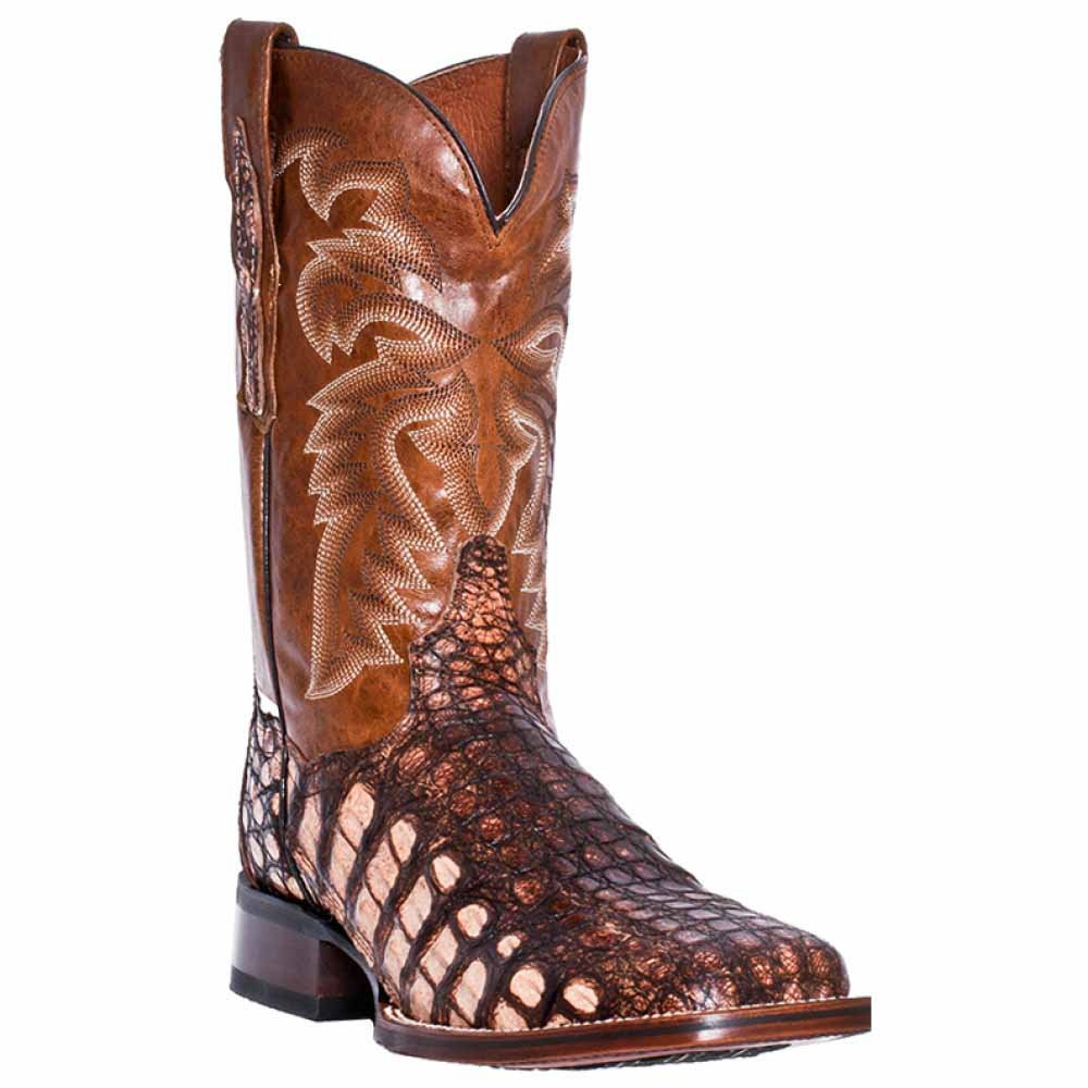 Dan Post Men's Everglades SQ Western Boot B00RIEQYGA 8.5 EW|Camel
