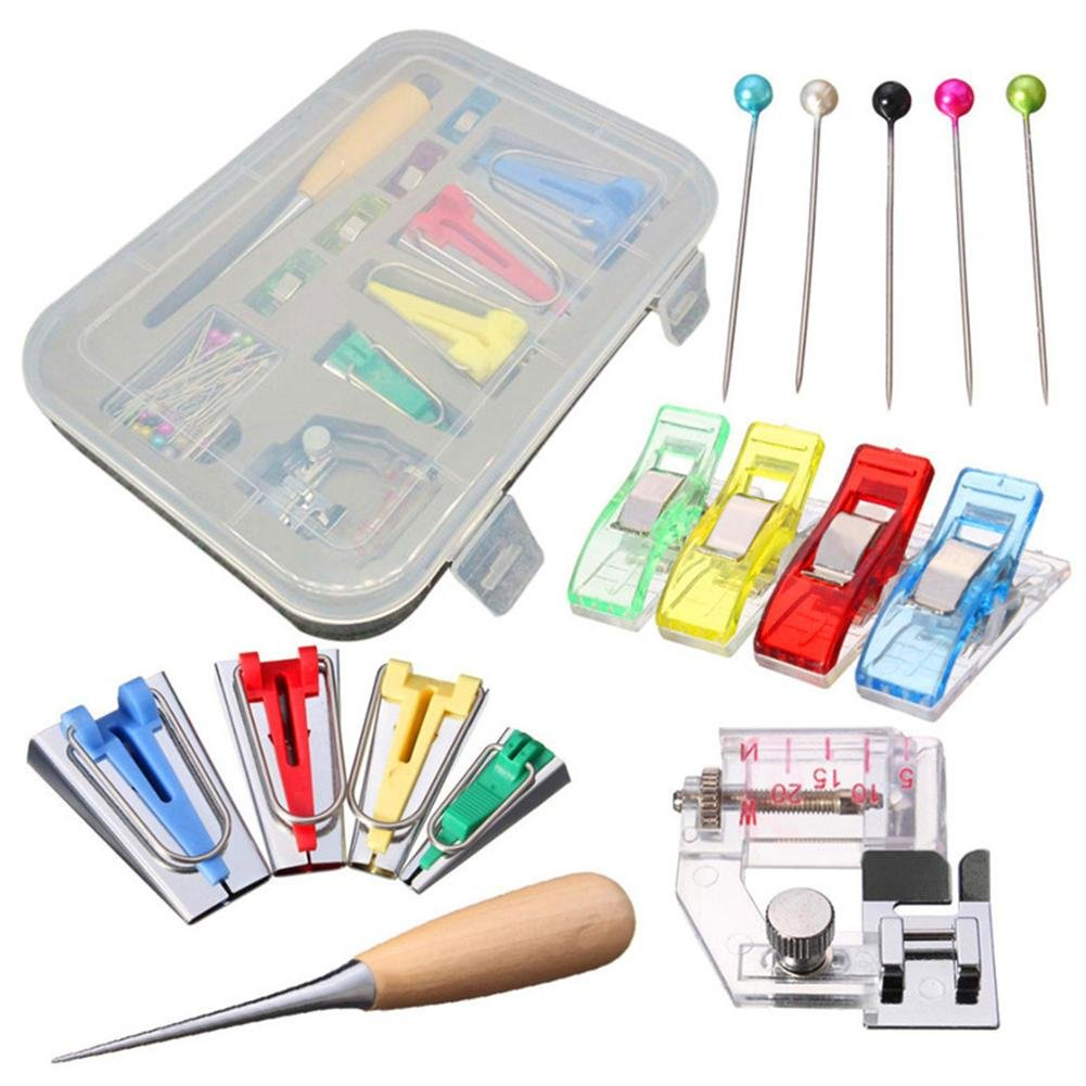 Kbsin212 patchwork set utensili domestici patchwork manuale Binder Tool kit tessuto Bias tape Maker strumento multifunzionale binding Belt make Tool set