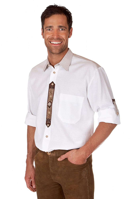 Orbis Textil H061 - Trachten Hemd mit Krempelarm