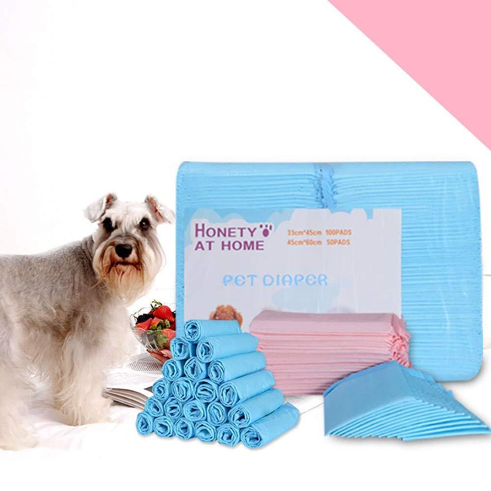 LAYBAY-PetPads Tappetini igienici assorbenti per Animali Domestici Pastiglia per per per Pipistrelli per Cani da addestramento vasino Cats Puppies Absine Leak-Proof Urine 20 Pz, 40pz,50pz e 100 pz aa4765