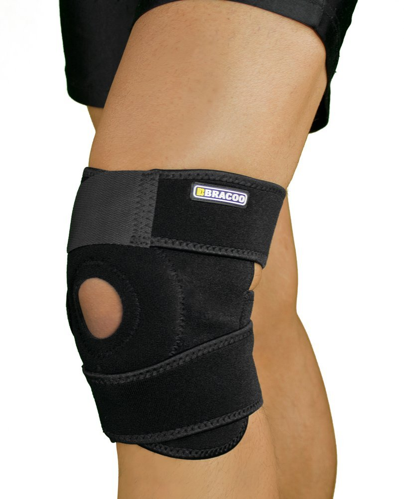 f886f69c5c Bracoo Knee Support, Open-Patella Brace for Arthritis, Joint Pain Relief,  Injury Recovery with Adjustable Strapping & Breathable
