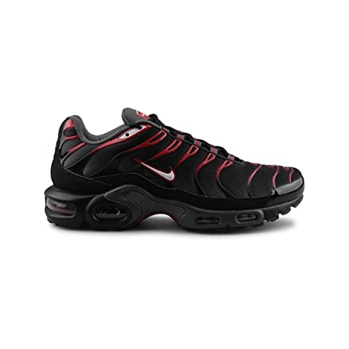 Nike Air Max Plus ZN Tuned Herren Schuhe - Black/weiß/dunkelgrau/rot ...