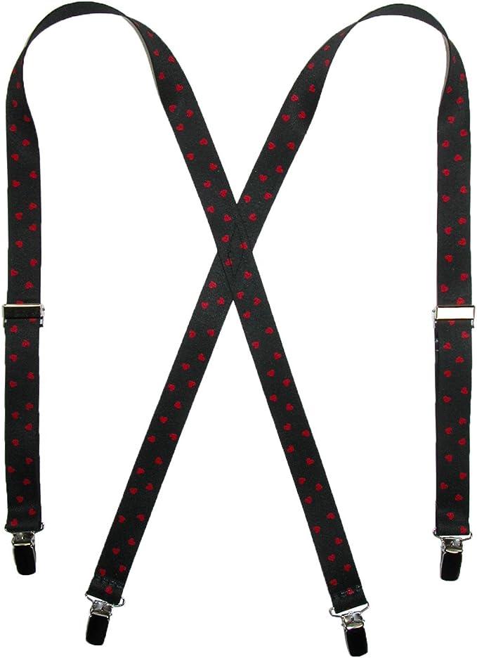 Clip Hearts Suspenders