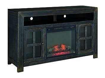 Amazon.com: Ashley Furniture Signature Design - Gavelston TV Stand ...