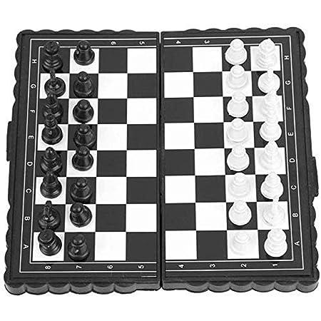 JJSFJH Ajedrez Juego de ajedrez Combo, Juegos Tradicionales ...