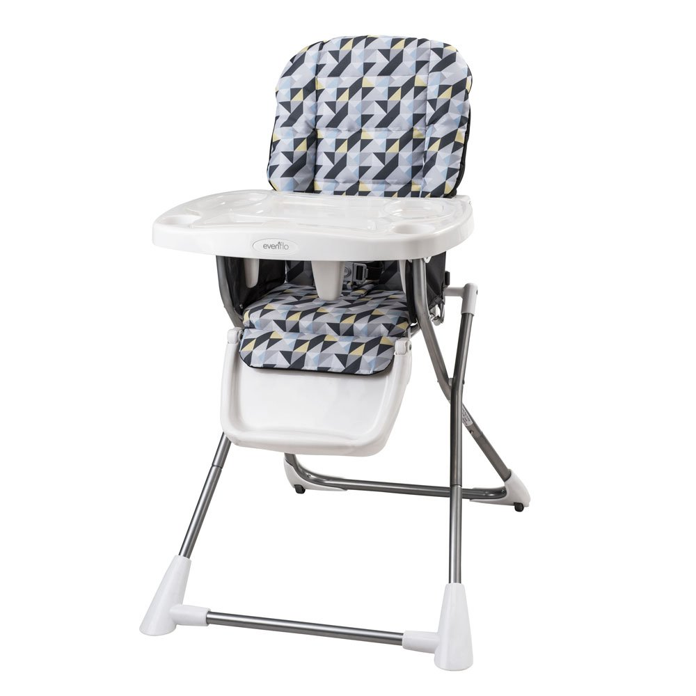 Amazon.com : Evenflo Compact Fold High Chair, Raleigh (Discontinued By  Manufacturer) : Childrens Highchairs : Baby