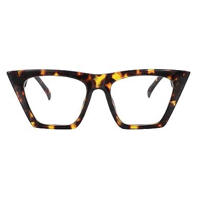 294525b5cd61 Amazon.com: Zeelool Stylish Cat Eye Glasses for Women Cecile FP0662 ...