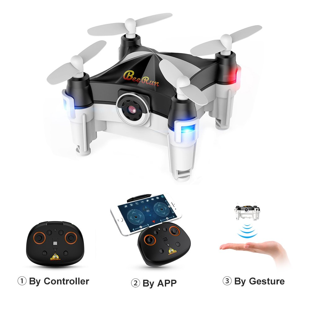 WiFi Mini Drone with Camera FPV RC Quadcopter with Dance...