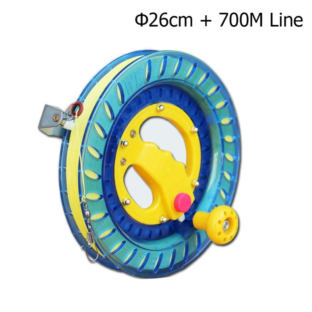 WANGCHAOLI Kite Professional Kite Line Winder Winding Reel Grip Wheel + String Flying Tools & Lock Kit Suitable for a Variety of Kites by WANGCHAOLI