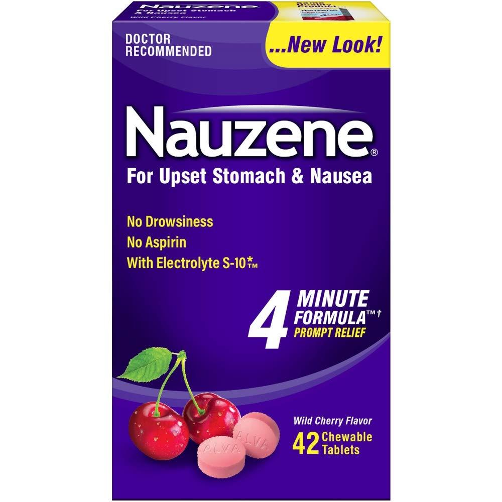 Nauzene Chew Tabs Size 40ct by Nauzene