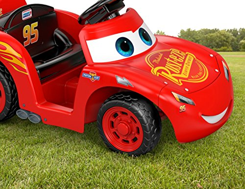 61Dr35fT79L - Power Wheels Lil Lightning McQueen