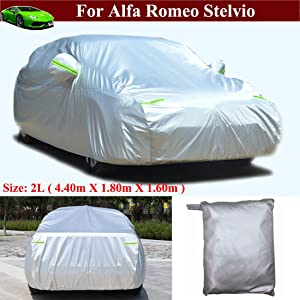 New Full Car Cover Car/SUV/Vehicle Cover Indoor/Outdoor Full Car Cover for Alfa Romeo Stelvio 2018 2019 2020 2021