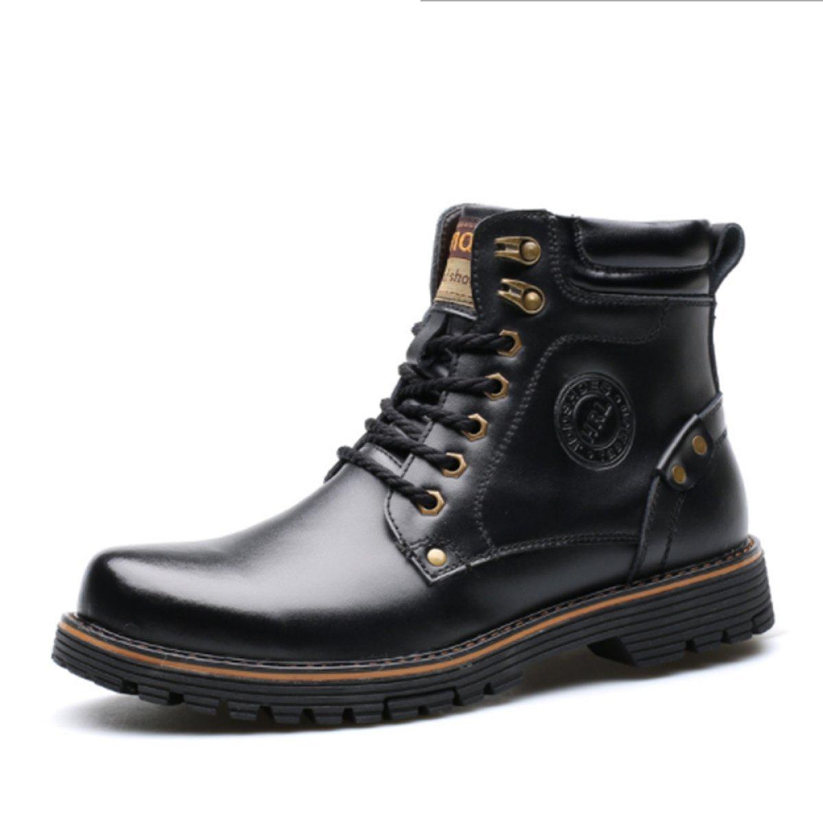 624087bedeb Zapatos De Hombre Martin Botas Botas Botas Militar Táctico Botas De Lobo  Antideslizante Confort De Cuero
