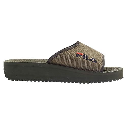 Fila - Zapatillas para Hombre Verde Verde: Amazon.es: Zapatos y complementos