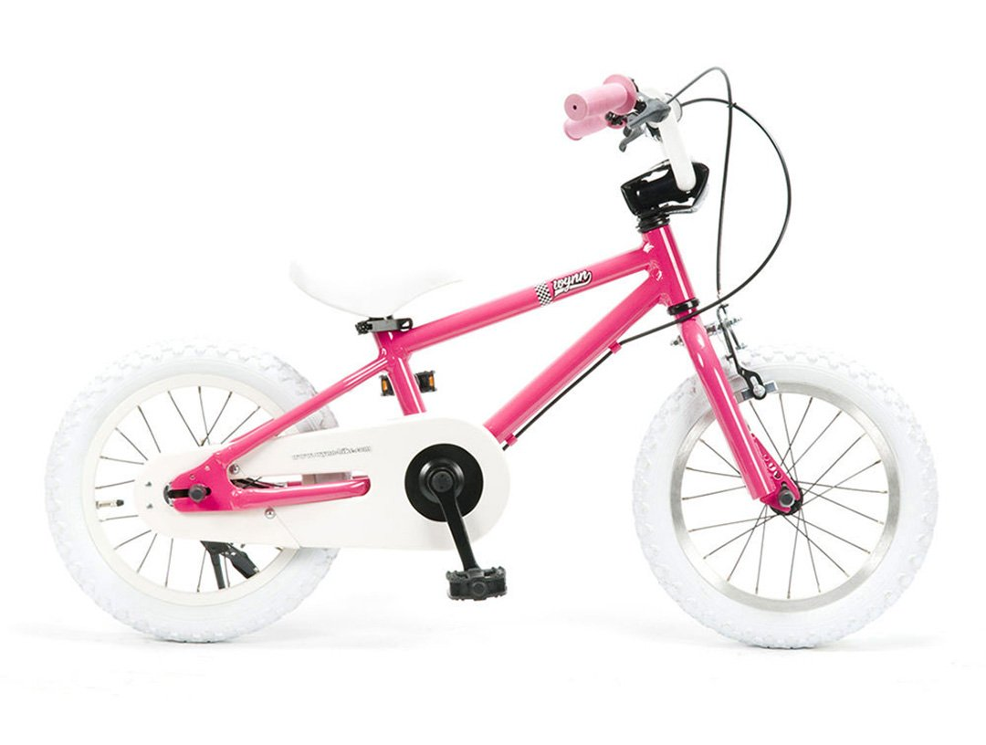 Wynn 14インチ BMXスタイル@25920 14inch STRIDERの次に(キックスタンドは付属しません) 【3歳~6歳向け】【キッズ ジュニア用】【 自転車 サイクル 】 B07C1NR4RJ PINK PINK