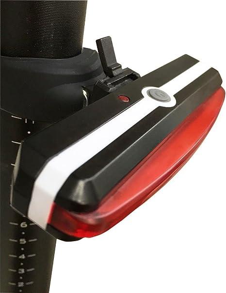 Awnic Luz Trasera USB Recargable para Bicicleta Piloto Trasero LED ...