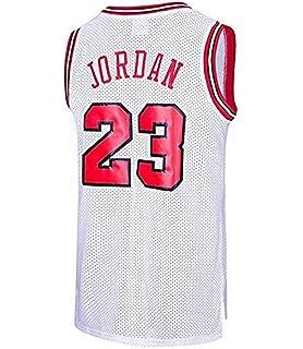 runvian Camiseta de Baloncesto para Hombre, NBA Michael Jordan ...