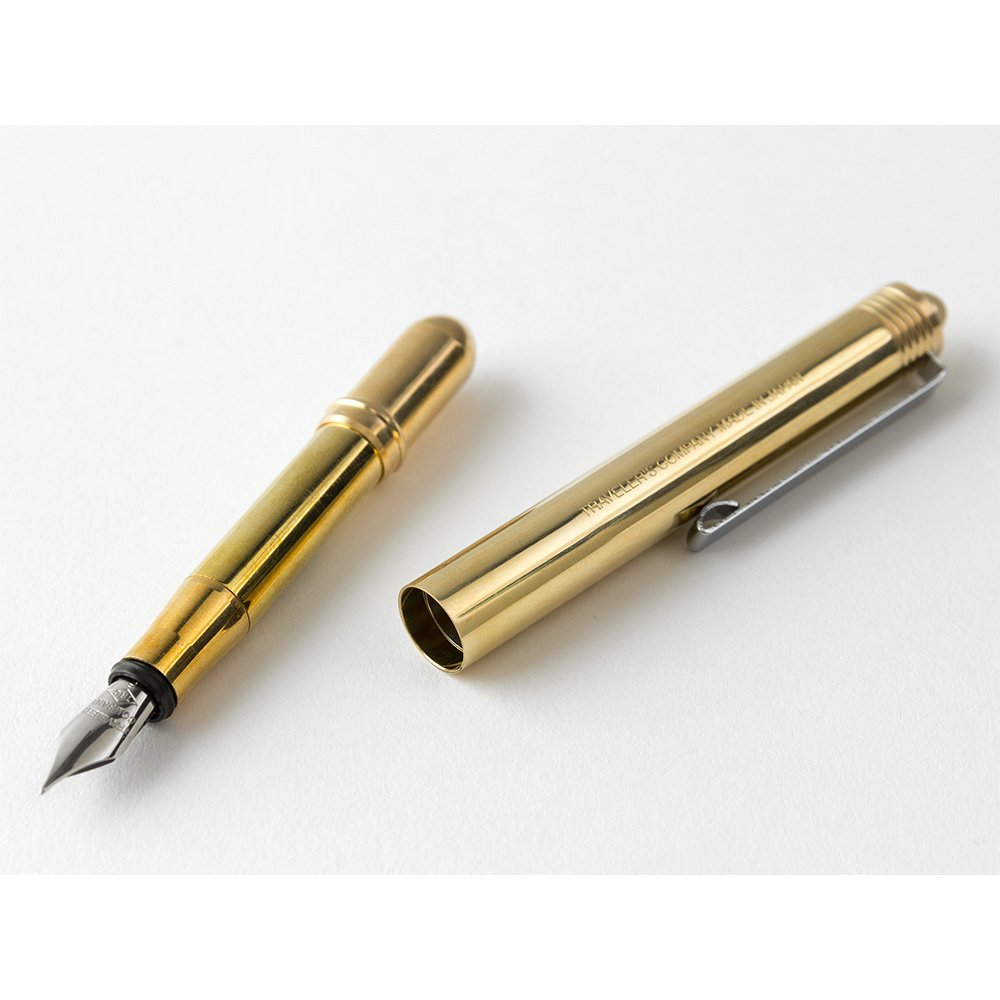 Traveler's company Brass Fountain Pen by Designphil (Image #4)