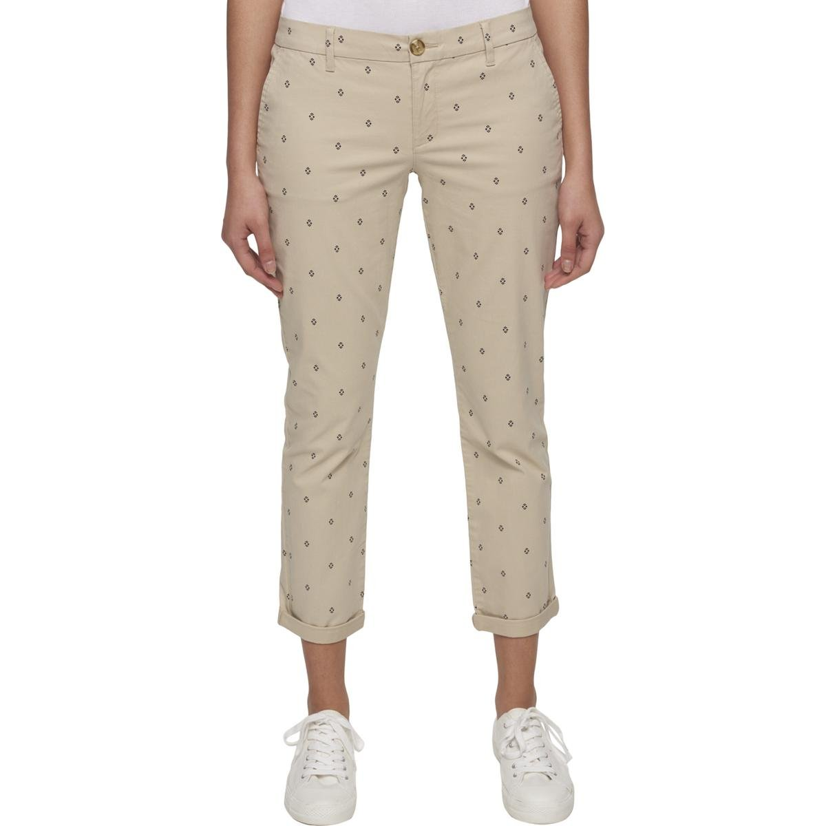 Tommy Hilfiger Hampton Chino Pants (Khaki, 12)