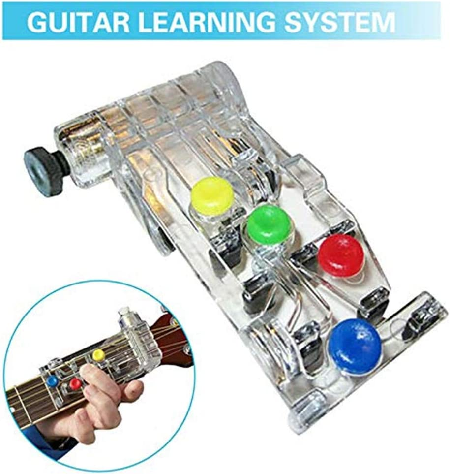 Sistema de aprendizaje de guitarra, afinador cromático con clip ...