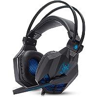 Headset Gamer Com Microfone Estéreo Super Bass 5.1 HD Para Pc Computador Notebook Mac, Xbox One e Ps4