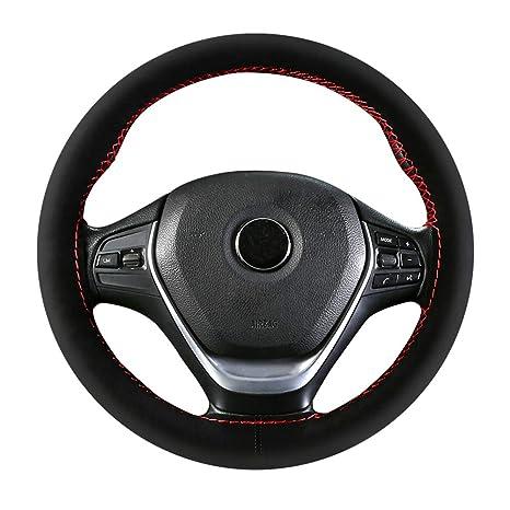 Amazon.com: Funda para volante, funda de ante de calidad ...