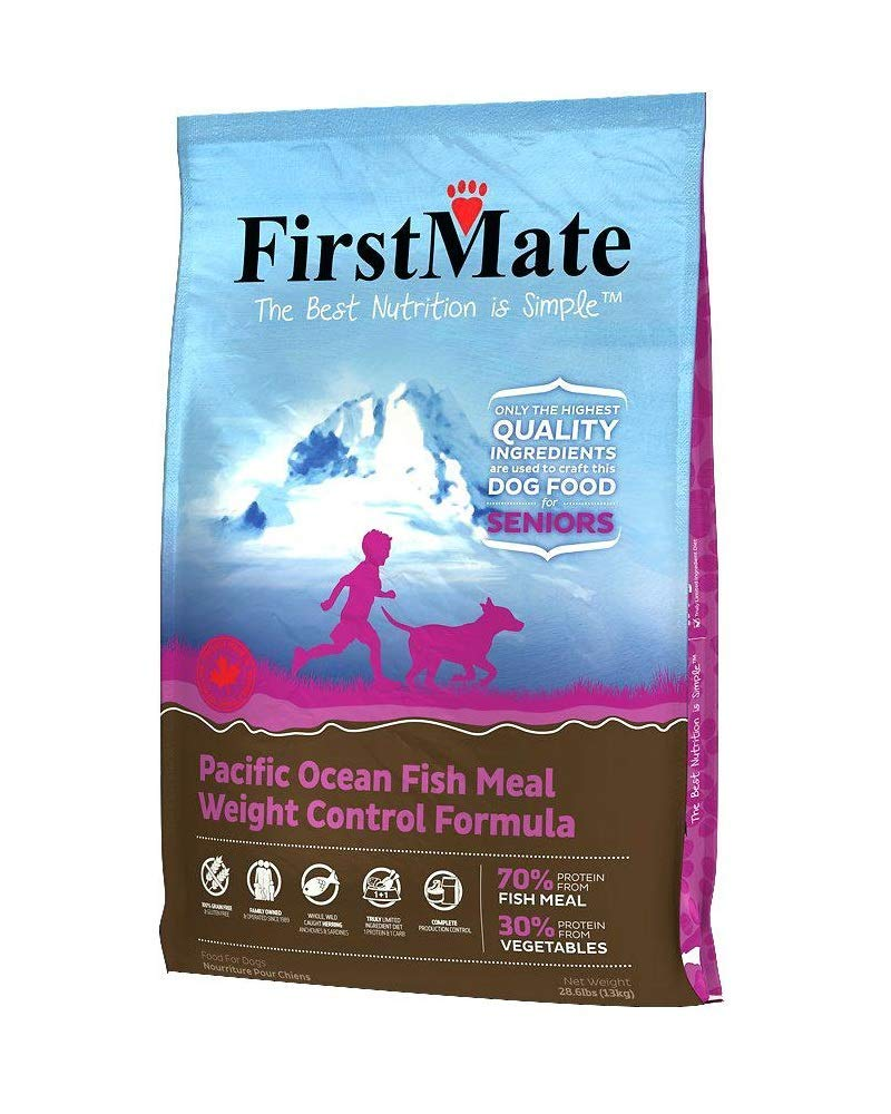 Firstmate Pet Foods Pacific Ocean Fish Senior/Weight Control, 14.5 Pounds by FirstMate