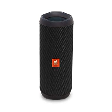 JBL Flip 4 Bluetooth Portable Stereo Speaker - black