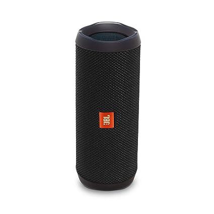 מקורי Amazon.com: JBL Flip 4 Bluetooth Portable Stereo Speaker - black QU-81