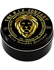 The B.I.G. Company - Beard Balm Conditioner - 2oz / 60ml - Beard Care Product to Tame and Condition Beard Hair - Executive Spice Scent