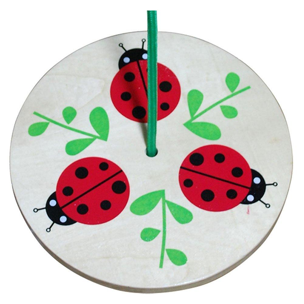 Toys 3810LBS Sassaras Ladybug Rope Swing Sassafras Enterprises Inc