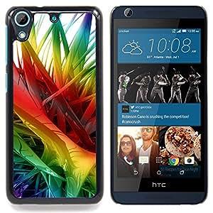 - Abstract Colors 2 - - Cubierta del caso de impacto con el patr??n Art Designs FOR HTC Desire 626 & 626s Queen Pattern