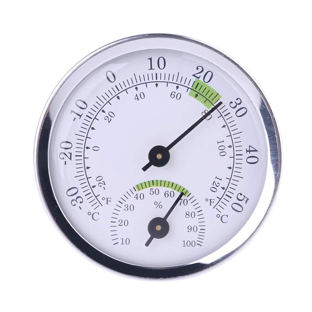 Pratico misuratore di umidit/à da parete termometro e igrometro per ufficio casa sauna