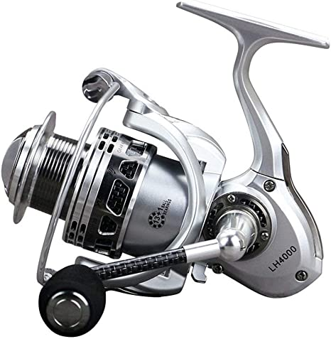 ZAIHW Spinning Fishing Reel Sistema de frenos de doble arrastre ...